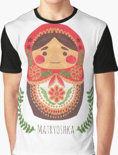 Matryoshka Doll Graphic T-Shirt