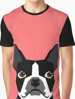 Kennedy - Boston Terrier customizable dog gifts for pet owners and Boston Terrier gifts for dog lovers Graphic T-Shirt