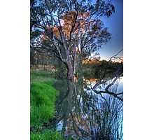 Murray Reflections - Albury , NSW - The HDR Experience Photographic Print