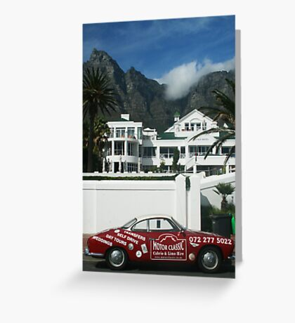 Motor Classic Greeting Card