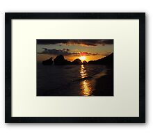 Sunrise at Porto Zorro, Zakynthos Framed Print