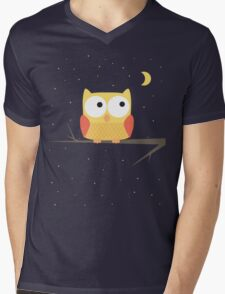 Cute Owl Mens V-Neck T-Shirt