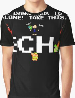 JonTron- It's Dangerous to go alone! Graphic T-Shirt