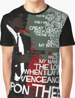 Movie Quote with-a-gun 4 PULP FICTION Graphic T-Shirt