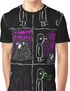 the melting comic Graphic T-Shirt