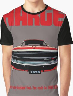 1970 Dodge Charger Graphic T-Shirt