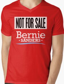 Not For Sale - Bernie Sanders Shirt Mens V-Neck T-Shirt
