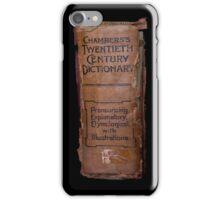 Chamber's Twentieth Century Dictionary - iPhone Case iPhone Case/Skin
