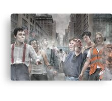 Rise of the Zombies Canvas Print