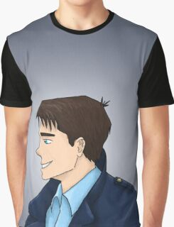 Captain Jack Harkness Profile Graphic T-Shirt