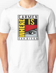 Where is Carmen? T-Shirt