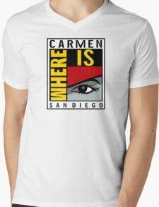 Where is Carmen? Mens V-Neck T-Shirt