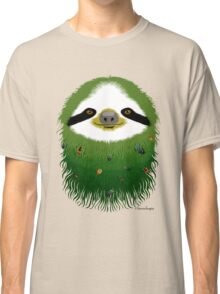 Sloth buggy - green Classic T-Shirt