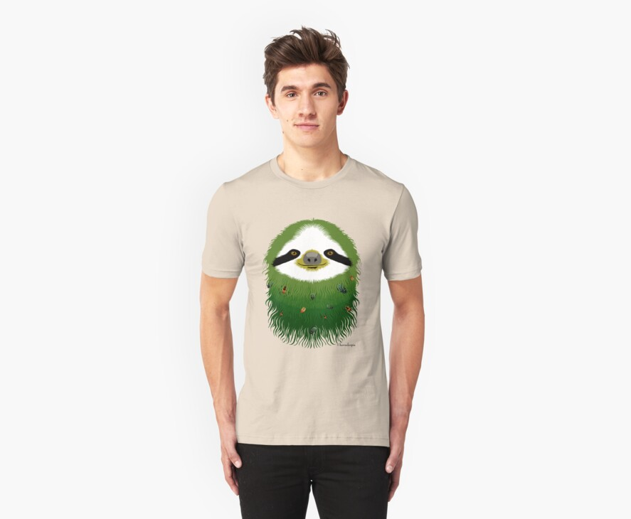 Sloth buggy - green by Sonia Kretschmar