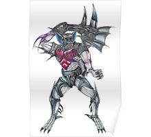 Transformers Pretender Bomb Burst  Poster