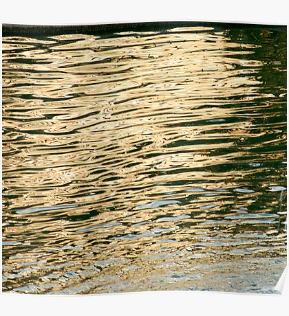 Abstract Water Poster