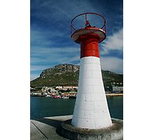 Light in the harbour Photographic Print