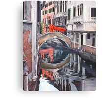 The Blood of Venice Canvas Print