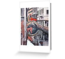 The Blood of Venice Greeting Card