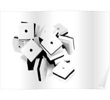 Cubes Poster
