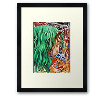 The Emerald King Framed Print