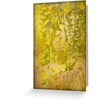 Laburnum Tapestry Greeting Card