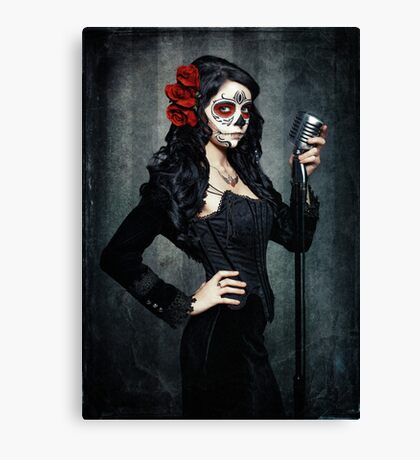 Songs Of The Dead Canvas Print