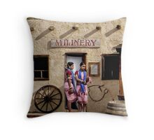 Curry Dancers Throw Pillow