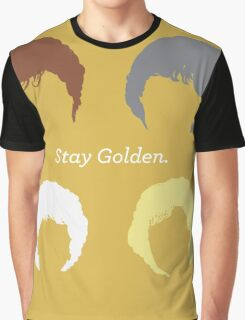 """The Girls // """"Stay Golden"""" Graphic T-Shirt"""