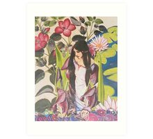 A Lady of Shallott Art Print