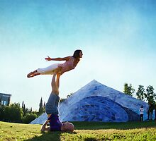 Acroyoga Fly by Wari Om  Yoga Photography
