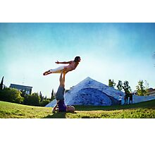 Acroyoga Fly Photographic Print