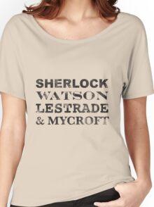 Sherlock Team Women's Relaxed Fit T-Shirt