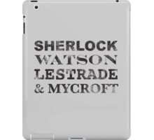 Sherlock Team iPad Case/Skin