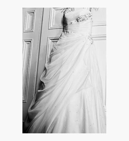 The Hanging Wedding Dress Photographic Print