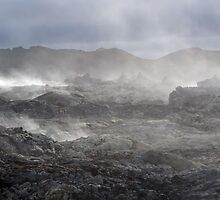 Fuming earth by sandymayasphoto