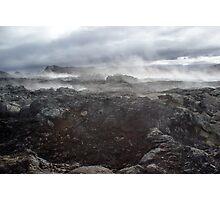 Volcano fumes Photographic Print