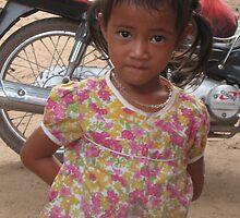 Cambodian Girl by MihrimahGhaziya