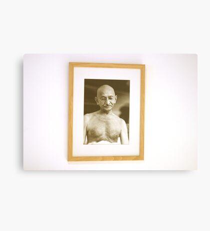 Gandhi  Canvas Print