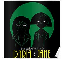 The adventures of Daria and Jane Poster