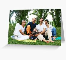 Spiritual Family Greeting Card