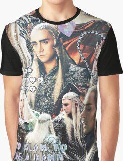 thranduil collage Graphic T-Shirt