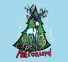 EXPECTO PATRONUM Harry Potter Christmas Design by LittleMizMagic