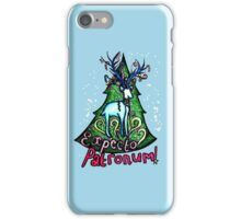 EXPECTO PATRONUM Harry Potter Christmas Design iPhone Case/Skin