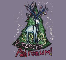 EXPECTO PATRONUM Harry Potter Christmas Design Kids Tee