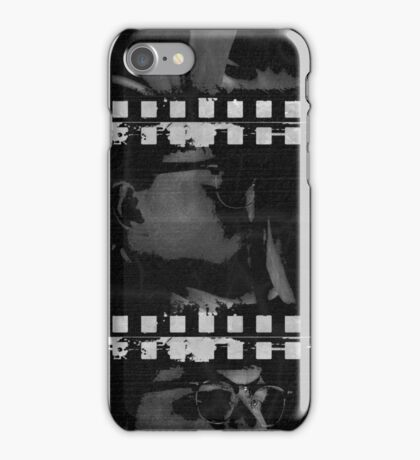 Richie and Kate (kiss b'n'w/gray) iPhone Case/Skin