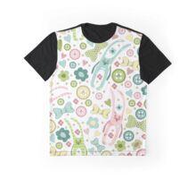 Funny rabbits Graphic T-Shirt