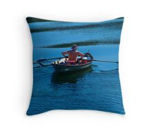 Maine | Christmas Cove Rower Throw Pillow