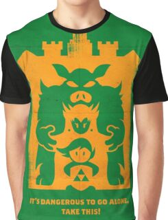 It's Dangerous to go alone! Buy This! Graphic T-Shirt