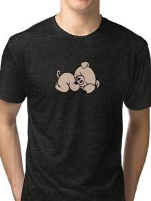 Sleeping piggy Tri-blend T-Shirt